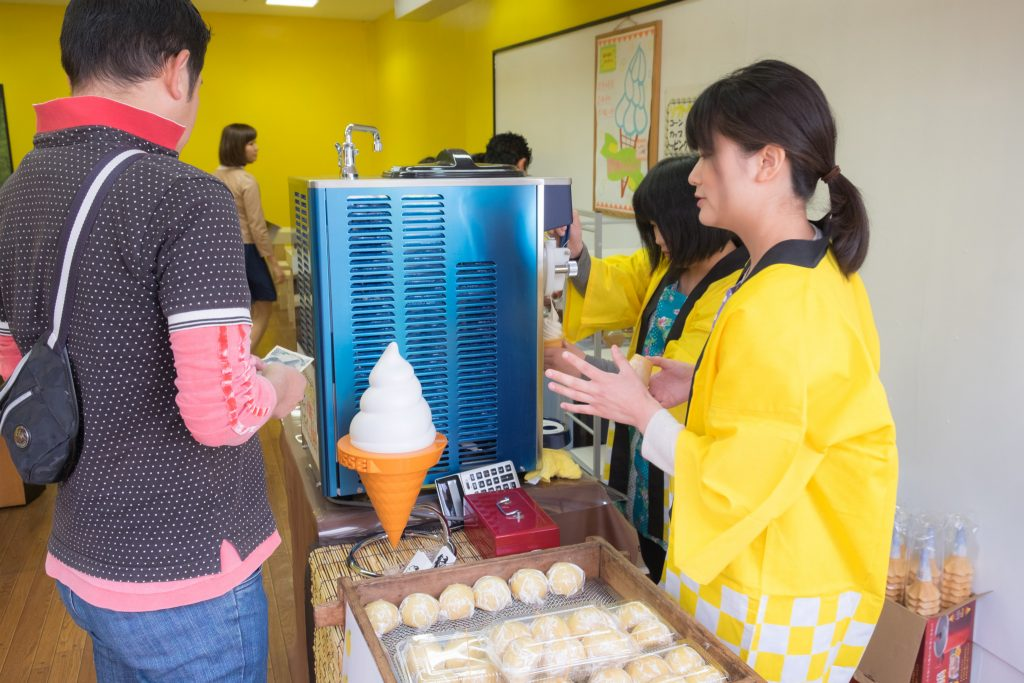 肥後トッピングソフトクリーム